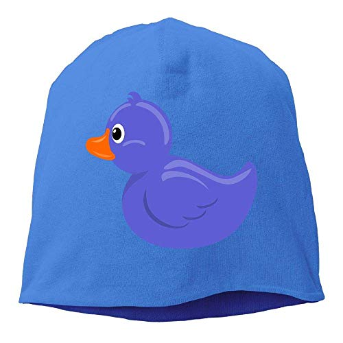 Headscarf Duck Blue Hip-Hop Knitted Hat hombres Mujeres
