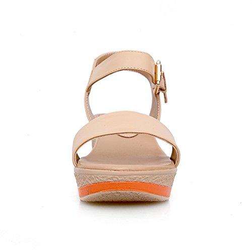 Adee , Sandales pour femme Orange abricot
