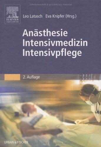 Anästhesie Intensivmedizin Intensivpflege