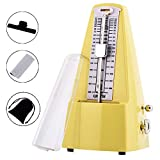 Professional Mechanical Metronome, Traditional Wind Up Mechanical Metronome for Piano, Guitar, Drums, Bass