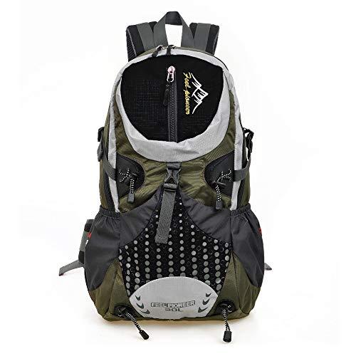 TnXan Outdoor Sports Rucksack Wandern Camping Reisen Taktische Rucksack Herren Rucksack 30l Doppelschulter Tasche Wasserdichter Rucksack