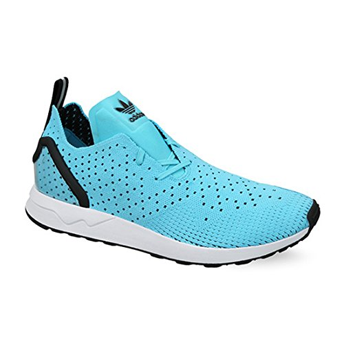 Blue Shoes Adidas ZX Flux ADV Asymmetrical Primeknit (S79064) 42 -