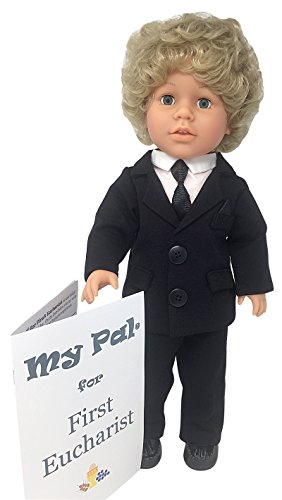 My Pal 18 inch boy Doll - for First Eucharist - Blonde Hair, Blue Eyes, Light Skin