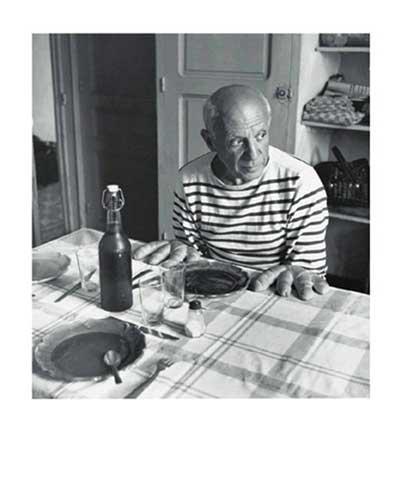 Kunstdruck/Poster: Robert Doisneau Les Pains de Picasso - hochwertiger Druck, Bild, Kunstposter, 50x60 cm
