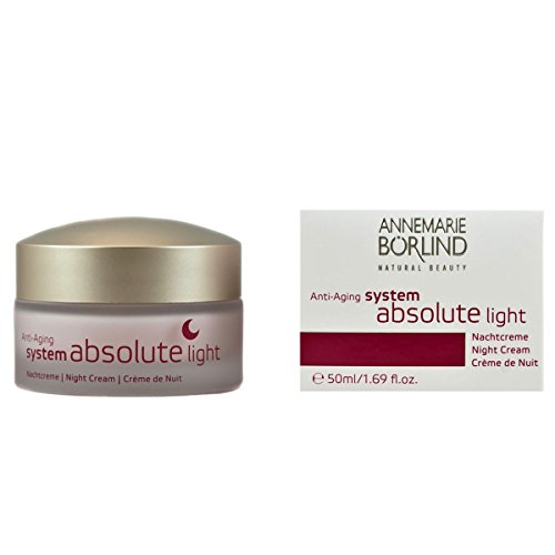 Annemarie Börlind System Absolute femme/woman, Anti-Aging Nachtcreme Light, 1er Pack (1 x 0.05 l) - Leichte Nachtcreme