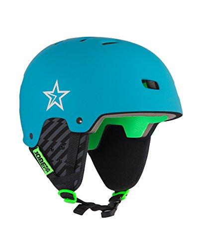 Jobe BASE WAKE helmet Helm Wakeboard Kite Surf Wassersporthelm Teal Blue Test