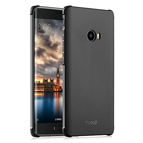 Hevaka Blade Xiaomi Mi Note 2 Funda - TPU Carcasa Smart Case Cover Para Xiaomi Mi Note 2 - Negro