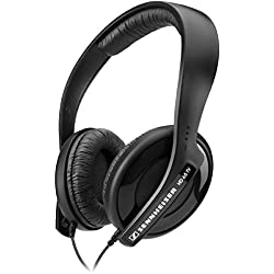 [Cable] Sennheiser HD 65 TV - Auriculares de diadema cerrados (Control remoto integrado), negro