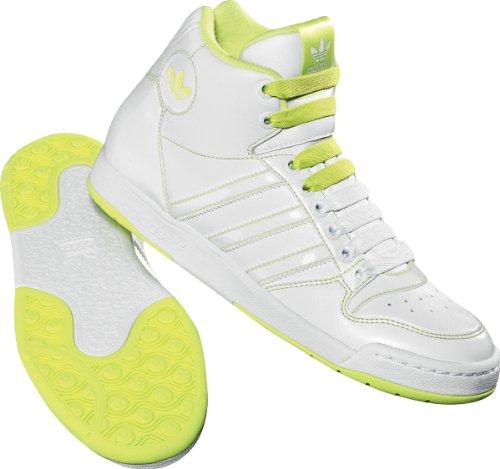 Adidas Midiru Court M in Weiß / Limette Weiß