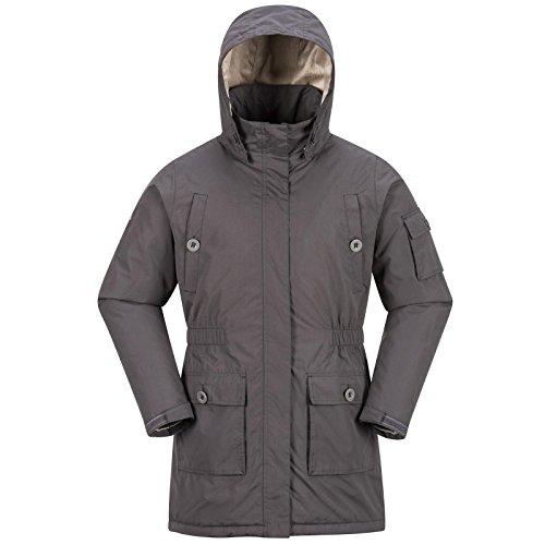 COX SWAIN Damen Funktionsjacke MIRABELL - 8.000mm Wassersäule, 5.000mm Atmungsaktiv, Colour: Khaki, Size: L (Khaki Snowboard Jacke)