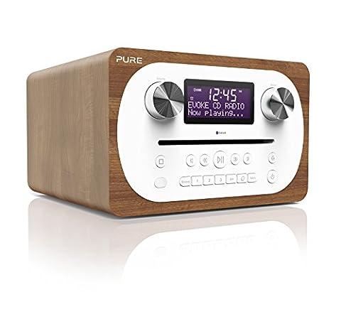 Pure Evoke C-D4 Radio/Radio-réveil Lecteur CD