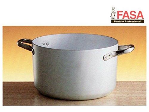 Kasserolle Aluminium Fasa Hohe 2Griffen Cm.36[Fasa Töpfe]