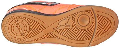 Kangaroos Mädchen Power Court Low-Top Orange (neon Salmon 678)