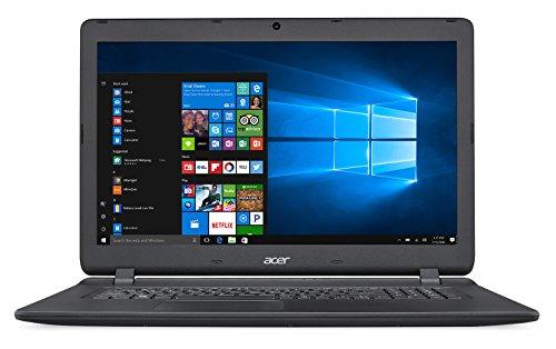 """Acer Aspire ES 17 ES1-732 - Ordenador portátil 17.3"""" HD+ (Intel Celeron N3350, 8 GB de RAM, HDD de 1 TB, Intel HD Graphics, Windows10 Home) negro - Teclado QWERTY Español"""