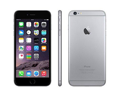 Apple iPhone 6 Plus Gris Espacial 16GB Smartphone Libre  Reacondicionado Certificado