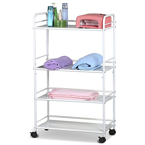 LARGE BEAUTY SALON TROLLEY CART STORAGE DENTIST WAX TREATMENT SHOES RACK SHELF