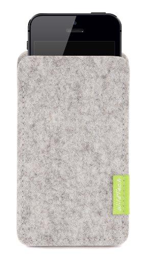 WildTech Sleeve für iPhone 4 & iPhone 4S - 14 Farben wählbar (Rost) Hellgrau