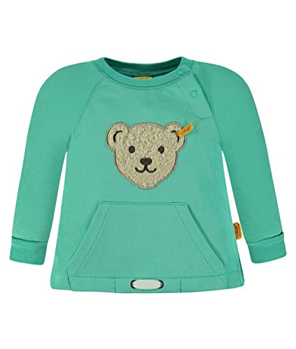 Steiff Collection Jungen Sweatshirt 1/1 Arm 6832827, Grün (Florida Keys 5153), 86