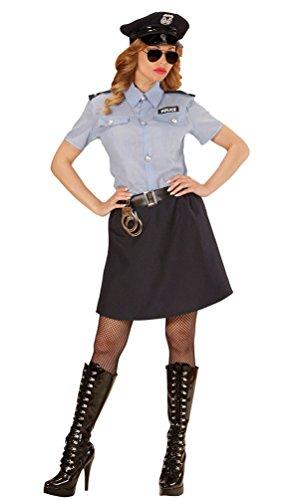 (Karneval-Klamotten' Kostüm Polizistin Sandra Dame Karneval Polizei Damenkostüm Größe 42/44)
