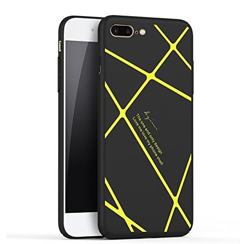 Coque iPhone 7,Coque iPhone7 Plus,Coque iPhone 6/6S,Case Cover,motif de franges[Silky]-Smooth and supple.Non-slip.Doux TPU Matière avec [Ultra Mince] [Ultra Léger] Anti-dérapante Coque(SJLC3-6) D