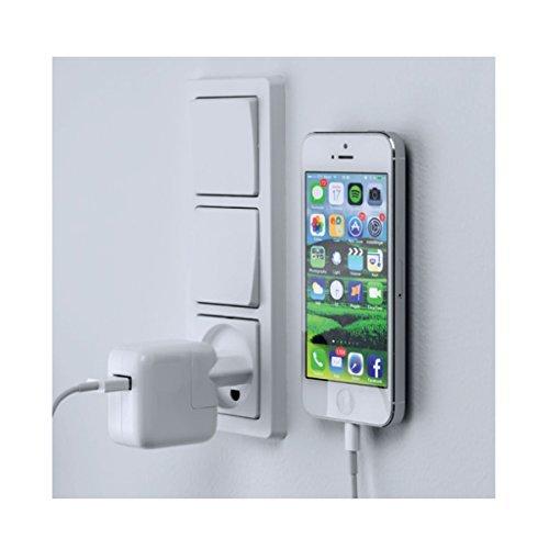 Sauber UND cool entworfen Telefon Wand-Mount System. Passt Perfekt in beide Auto und an der Wand.