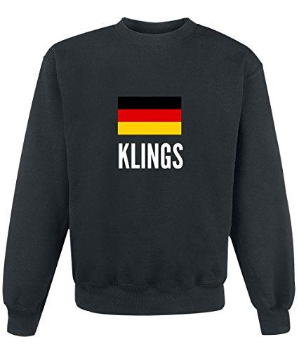 Felpa Klings city Black
