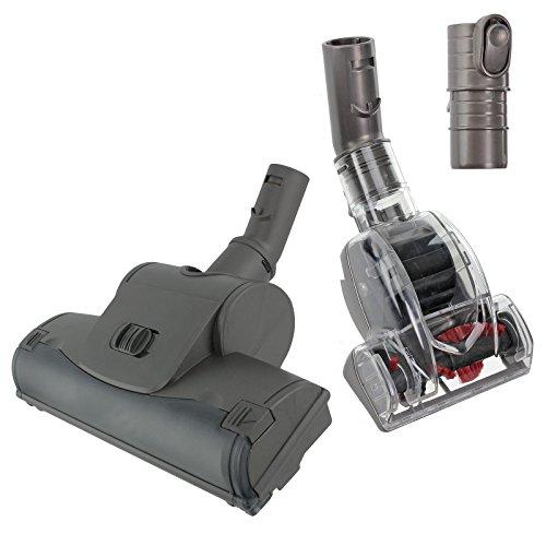 Spares2go principal Brosse turbo + Mini Turbine Head pour tous les principaux modèles d'aspirateur Dyson