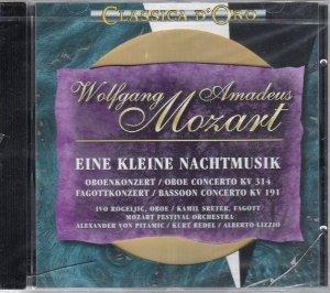 W. A. MOZART - EINE KLEINE NACHTMUSIK - CLASSICA D'ORO