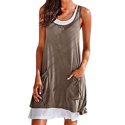 Sommer Bandeau Kleid Holz-Perlen Damen Strandkleid Tuchkleid Tuch Aztec (Damen Kleider Süß)