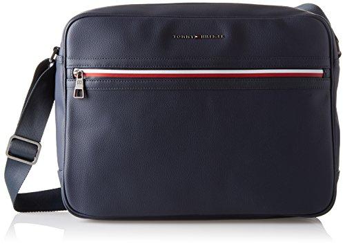 Tommy Hilfiger Herren Essential Messenger Ii Laptop Tasche, Blau (Tommy Navy), 2x9.8000000000000007x11.5 cm - Knochen-leder-schuhe