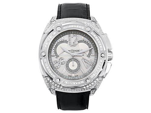 Saint Honore Montre pour Hommes High Jewellery Haussman Chronographe 889081 1BYD