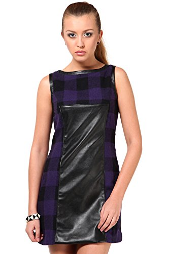 The Vanca Women SLEEVELESS DRESS IN TWEED FABRIC  available at amazon for Rs.279