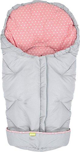 priebes-winterfusssack-josi-fur-babyschale-designgrau-dots-rose