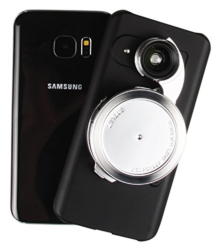 Ztylus Samsung Galaxy S7 Edge Black Camera Kit for Smartphone Photo & Video: Case, 4 in 1 Revolver Lens (Wide Angle, Macro, Fisheye, and CPL Lenses)  available at amazon for Rs.8093