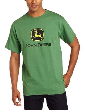 John deere short sleeved logo t shirt kelly green amazon for John deere shirts for kids