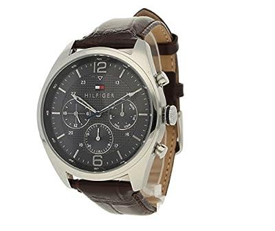 Tommy Hilfiguer 2770013 - Reloj cronografo de cuarzo para hombre, correa de piel