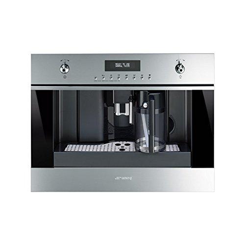Smeg cms6451x Combi Coffee Maker 1.8L acier inoxydable Machine pour le café