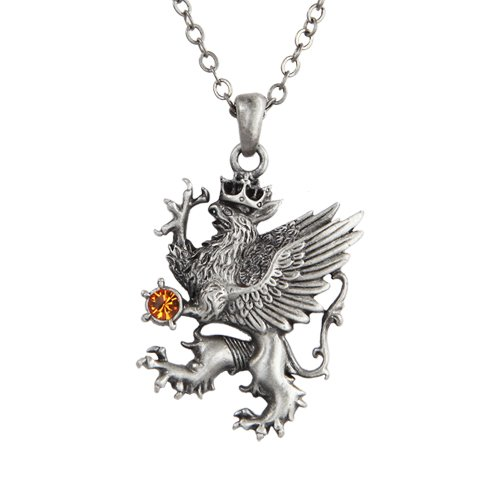 Der heraldischen Griffin Halskette fantasy Schmuck Griffin-schmuck