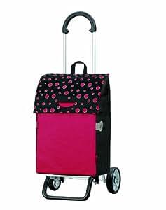 Chariot de courses Scala shopper plus Lola rouge - ANDERSEN