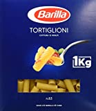 Barilla Pasta Tortiglioni, Pasta Corta Rigata di Semola di Grano Duro, I Classici - 1 kg
