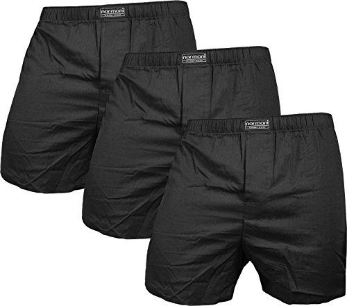 eb Boxershorts aus Reiner Baumwolle Farbe Schwarz Größe L ()