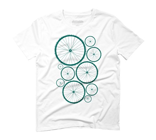 Drive green Men's Graphic T-Shirt - Design By Humans White