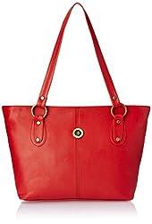 Fostelo Women's Handbag (Red) (FSB-327)