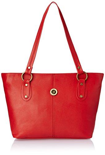 Fostelo Women\'s Handbag (Red) (FSB-327)