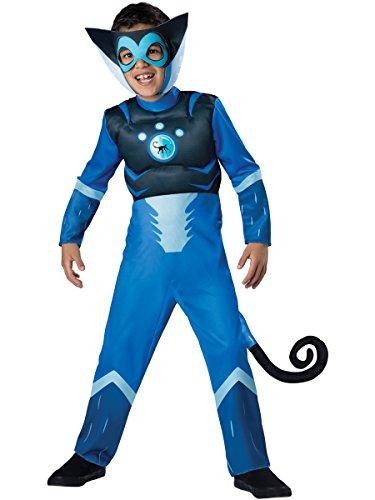 tts Blue Spider Monkey Boys Muscle Chest Costume XS(4) (Spider Baby Kostüm)