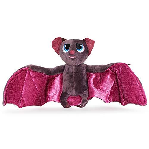 (Vampire Bat Plush Toys from Movie Hotel Transylvania, Soft Dracula Mavis Bat Figure Toy for Kids Halloween Gifts,7