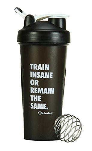 Ishake Warrior Shaker Bottle 600 ml , (Black)  available at amazon for Rs.268