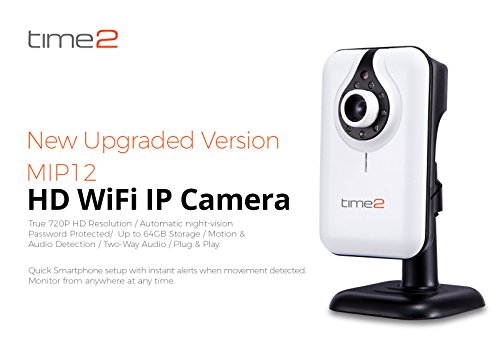 Home Security Camera - HD IP Camera – Wireless Surveillance Camera, Day & Night vision, 720P, Motion detection, Audio, Push notifications, Remote Viewing [UpgradedSoftware]