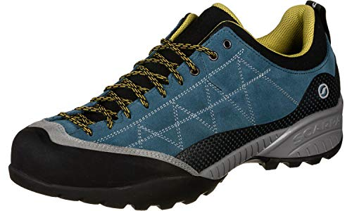 Scarpa Zen Pro Approachschuhe Lake Blue/Mustard (Schuhe Lake)