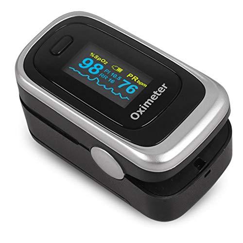 Purebesi Oximeter,Finger-Pulsoximeter, Blutdruckmessgerät, Herzfrequenz-Gesundheitspflege-Werkzeug Für Erwachsene Und Kinder